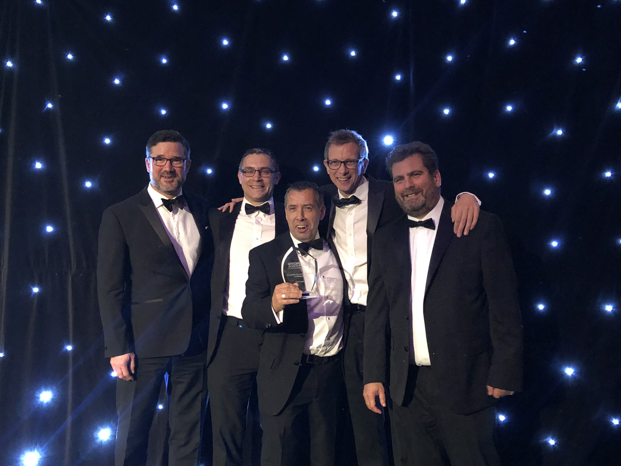 UltraSupport win Storage Award